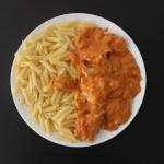 Schab w sosie pomidorowo-...