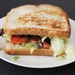 Amerykańska kanapka BLT...