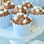 Muffinki z kremem czekola...