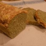 Drozdzowy chlebek szpinak...