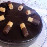 Czekoladowy tort z...