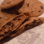 Ciasteczka z kawałkami...