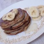 Pancakes owsiane z banana...