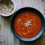 Pomidorowa zupa krem z cz...