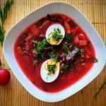 Dietetyczna zupa z botwin...