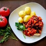 Piers z kurczaka w pomido...