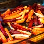Warzywne fit frytki