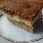 Ciasto jablkowo- budyniow...