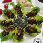 Wrapy z Salaty z Wolowina...