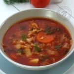 Kapusniak z Pomidorami