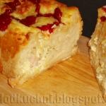 Chleb z wnetrzem jajeczno...