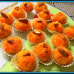 Carrot Coconut Laddoo (...