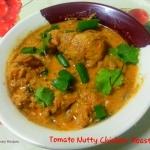 Tomato Nutty Chicken...