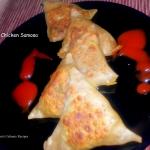 Wheat Chicken Samosa