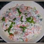 Raita - Yogurt mixed...