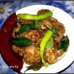 Pepper Chicken Liver dry...