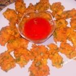 Palak Chicken Pakora or...