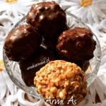 Zdrowe cukierki orzechowe