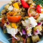 Salatka z pieczonych warz...