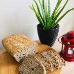 Chleb z platkami owsianym...