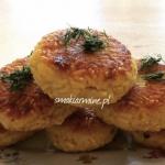 Kotleciki ryżowo-serowe
