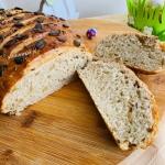 Chleb cebulowy, pszenno-...