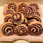 Dwukolorowe ciasteczka...