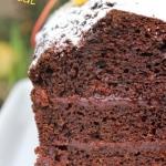 Kakaowe ciasto vege na to...