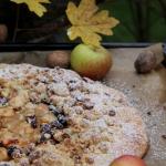 Rustykalna tarta z jablka...