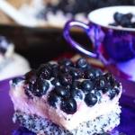 Ciasto z borówkami,...