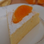 Japanese soft cheesecake...