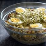 Salatka a'la sos tatars...