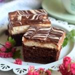 Ciasto kakaowe z mietowa ...