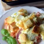 Zapiekanka tostowa z jajk...