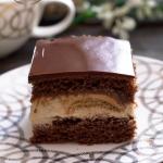 Kakaowy biszkopt z masa c...