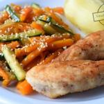 Filet z kurczaka i marche...