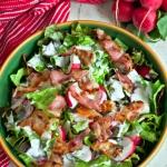 Salata z rzodkiewka