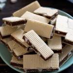 Wafle czekoladowo-mietowe...