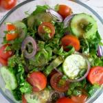 Surowka z salaty rzymskie...