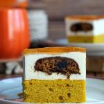 Ciasto dyniowe z kremem,...