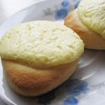Okragle buleczki z serem