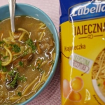 zupa grzybowa z makaronem