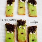 Frankenstein cookies -...