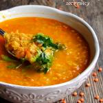 zupa z czerwonej...
