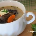 Zupa z mlodych grzybow - ...