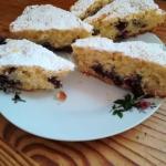 Ciasto ucierane owocowe