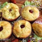 Muffiny z gotowanym...