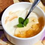 Pudding ryzowo-kokosowy z...