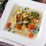 Delikatna zupa z...