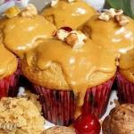 Muffiny z orzechami...